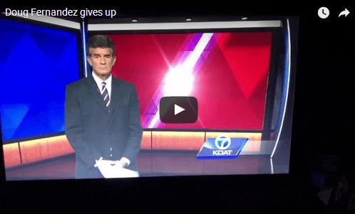 (ВИДЕО) Во програма во живо: Водителот буквално крена раце од сè