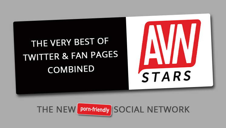 AVN Stars Social Network and Fan Pages