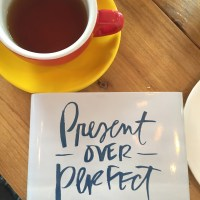Present over Perfect book club: embrace your life