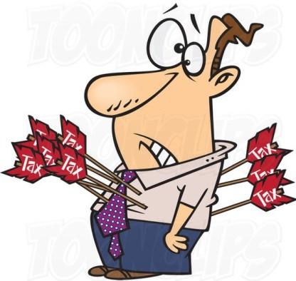 cartoon-guy-shot-with-tax-arrows-by-ron-leishman-37105