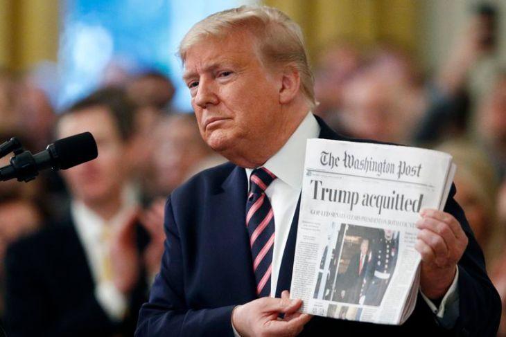 US President:  It Was All Bullshit