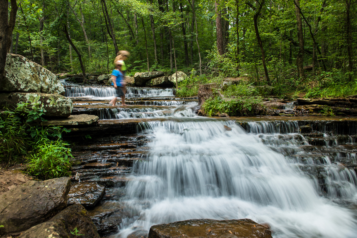 Collins Creek And Bridal Veil Falls Heber Springs Only