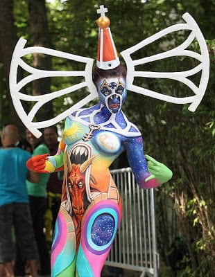 1683471 slide s 8 at the world bodypainting festival painters transform humans into art