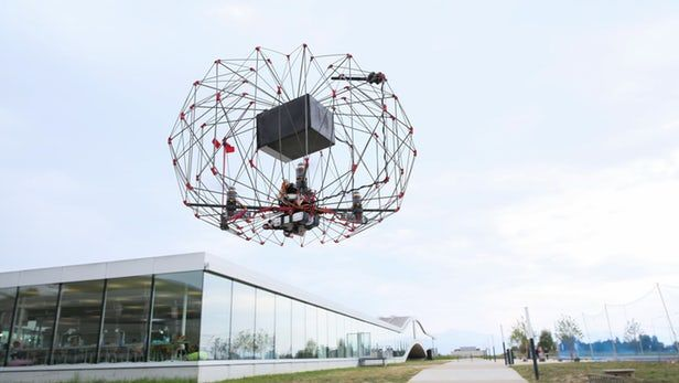 origami inspired delivery drones