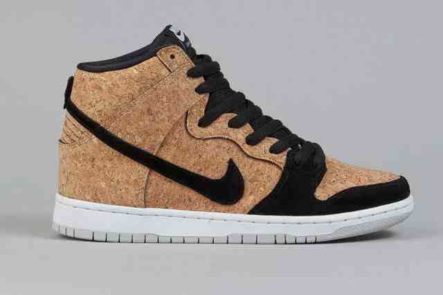 Eco-friendly cork shoes from Nike