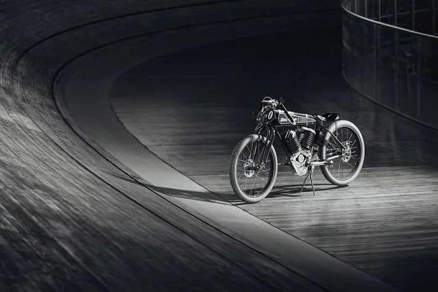 Vintag-inspired electric bike