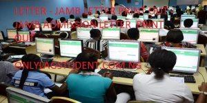 JAMB ADMISSION LETTER : JAMB LETTER - JAMB LETTER PRINT OUT - JAMB ADMISSION LETTER PRINT OUT - jamb admission letter print for UMTE/DE - jamb admission letter print for UMTE/DE 2020/2020 - jamb admission letter print for UMTE/DE 2020