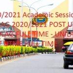 UNILAG 2020/2021 POST UTME : Post UTME Form for 2020/2021 Academic Session - UNILAG 2020/2021 POST UTME - UNILAG FULL TIME - UNILAG POST UTME FULL TIME 2020/2021