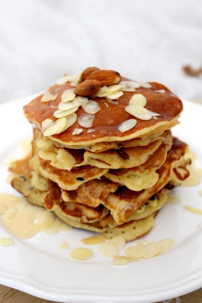 pancakes protéinés banane