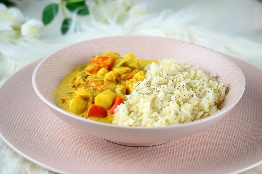 curry de poisson - only laurie