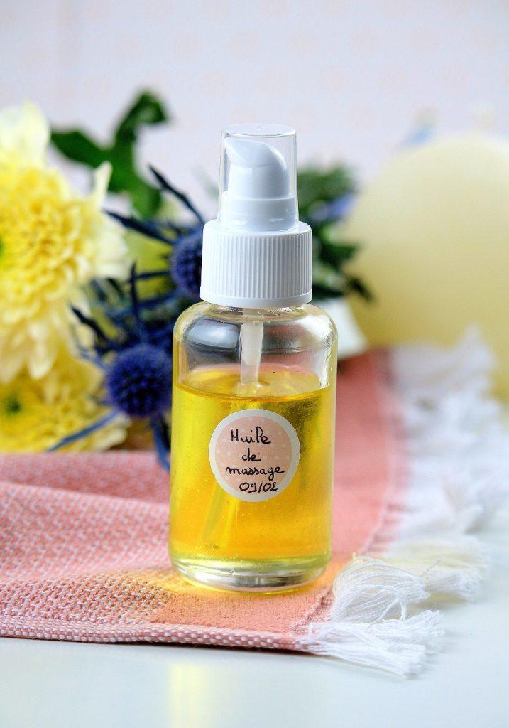 huile de massage aphrodisiaque maison - only laurie