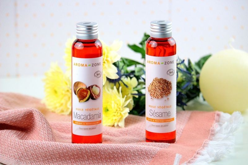 huile végétales huile de massage - only laurie