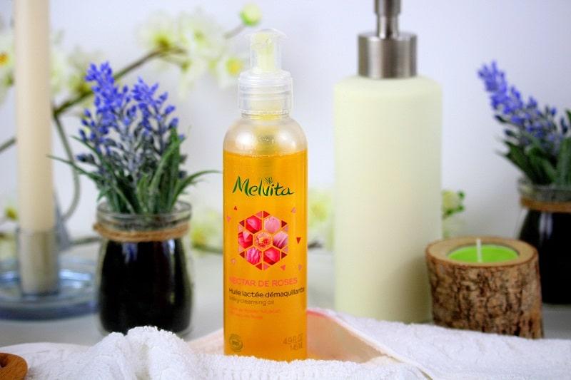huile lactée démaquillante melvita - only laurie