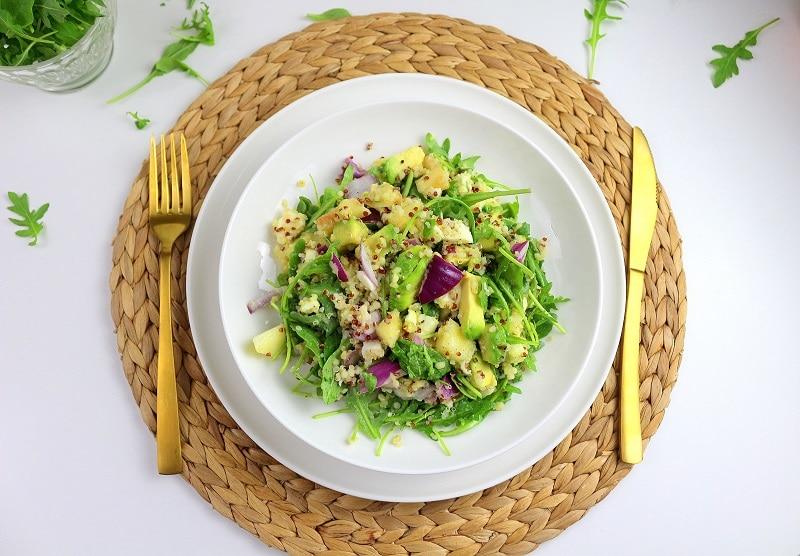 salade quinoa été only laurie