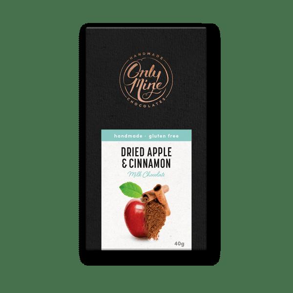 Dried Apple & Cinnamon Milk Chocolate Bars