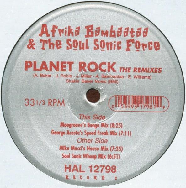 Planet Rock (The Remixes)