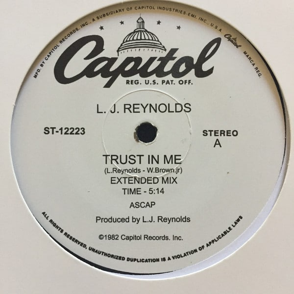 L.J. Reynolds – Trust In Me