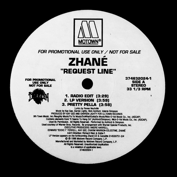 Zhané ‎– Request Line