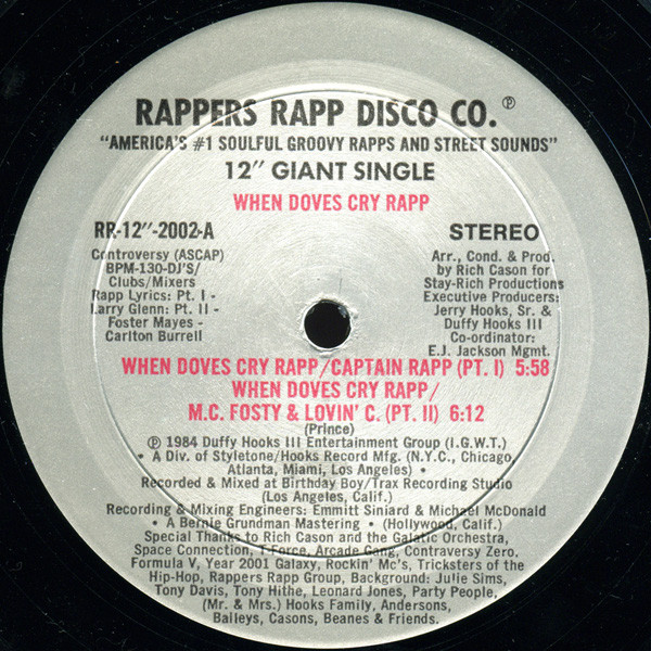 When Doves Cry Rapp