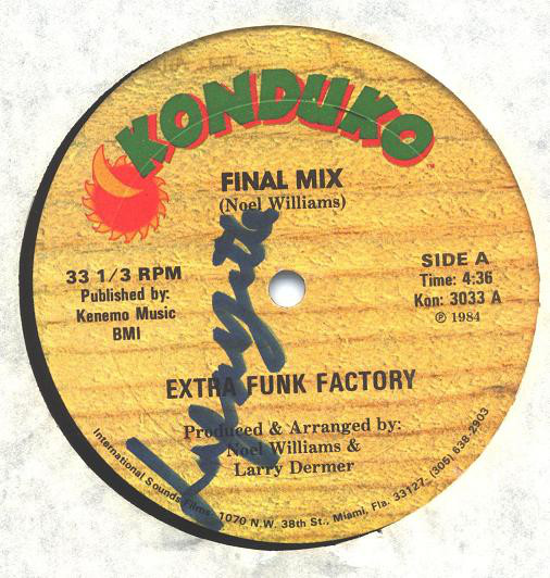 Extra Funk Factory ‎– Final Mix