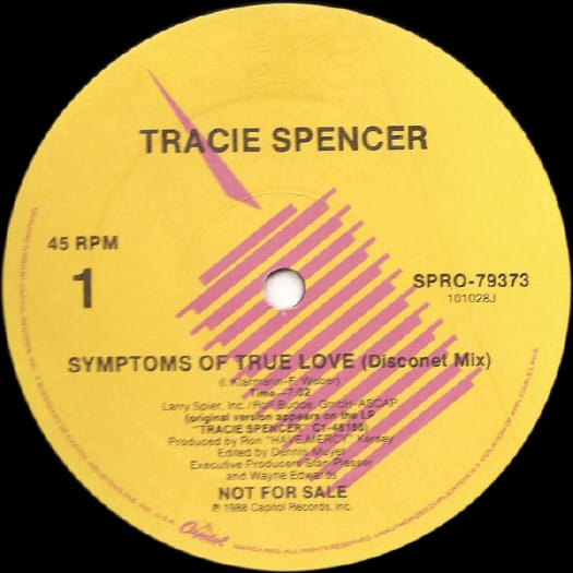 Tracie Spencer – Symptoms Of True Love