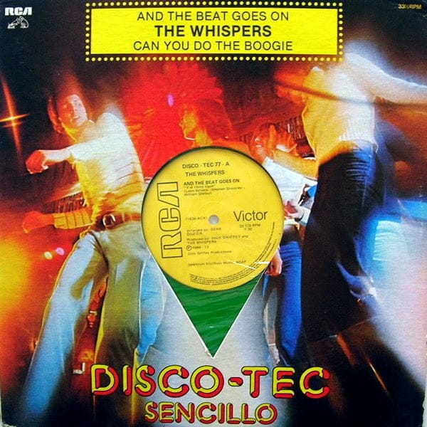 The Whispers – And The Beat Goes On ( Green Vinyl )