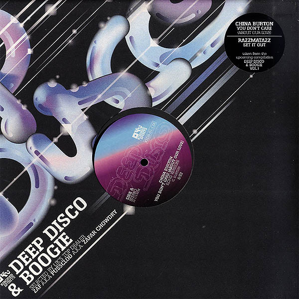 China Burton / Razzmatazz  ‎– Deep Disco & Boogie Vol.1