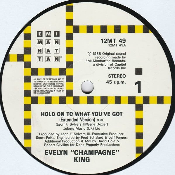 Evelyn King – Hold On To What You´ve Got