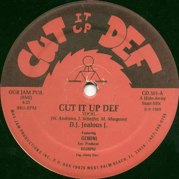 D.J. Jealous J. Featuring Gemini  – Cut It Up Def