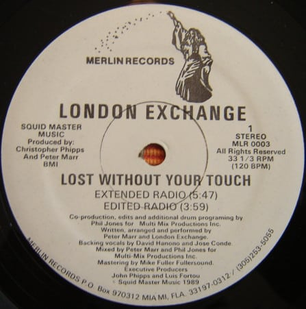 London Exchange - Lost Without Your Touch