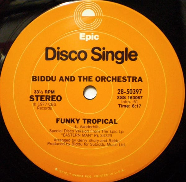 Biddu And The Orchestra – Funky Tropical / Boogiethon