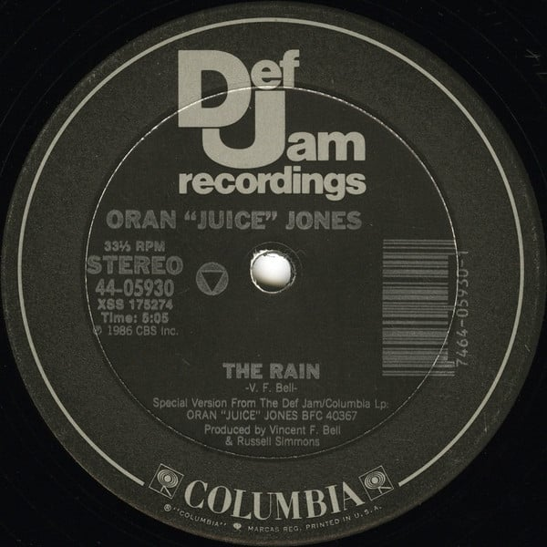 "Oran ""Juice"" Jones ‎- The Rain"