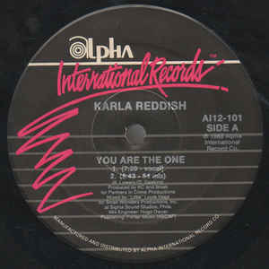 Karla Reddish ‎- You Are The One