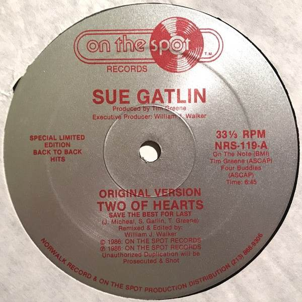 Sue Gatlin / Illusion – Two Of Hearts / Illusion