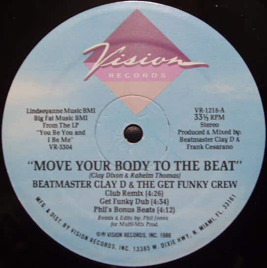 Beatmaster Clay D & The Get Funky Crew – Move Your Body To The Beat / Do Your Duty