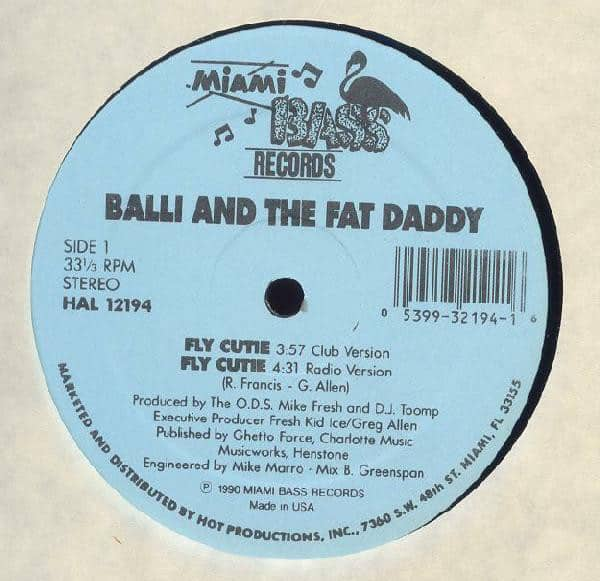 Balli And The Fat Daddy ‎- Fly Cutie