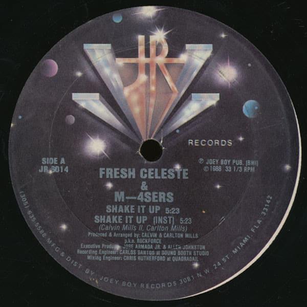 Fresh Celeste & M-4Sers – Shake It Up