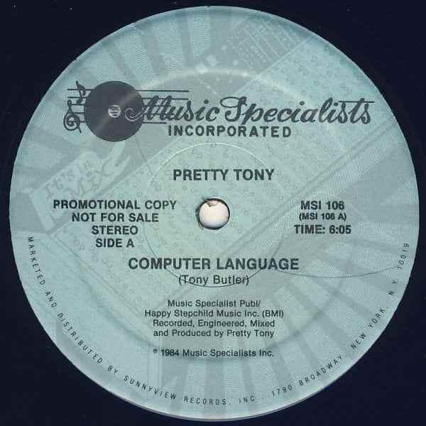 Pretty Tony – Computer Language