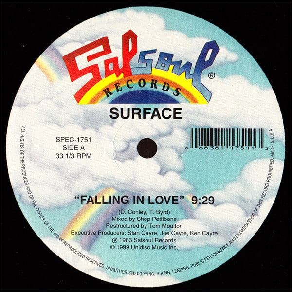 Surface – Falling In Love / Stop Holding Back / When Your X Wants You Back
