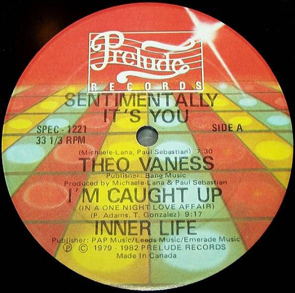 Theo Vaness / Inner Life – Sentimentally It's You / I'm Caught Up (In A One Night Love Affair) / Ain't No Mountain High Enough