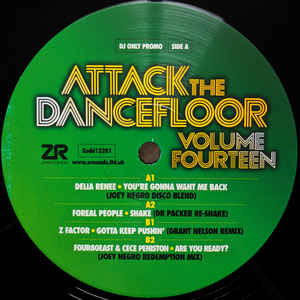 Attack The Dancefloor Volume Fourteen