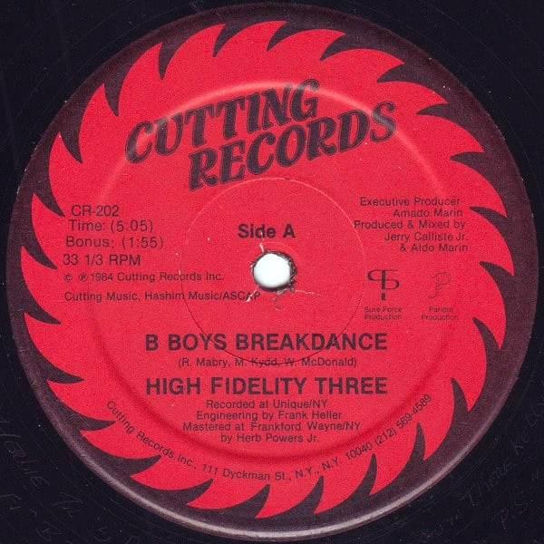 High Fidelity Three – B-Boys Breakdance