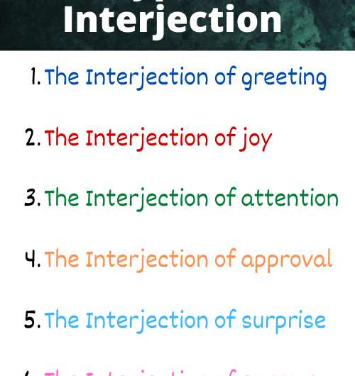 Interjection Types: Definition & Examples
