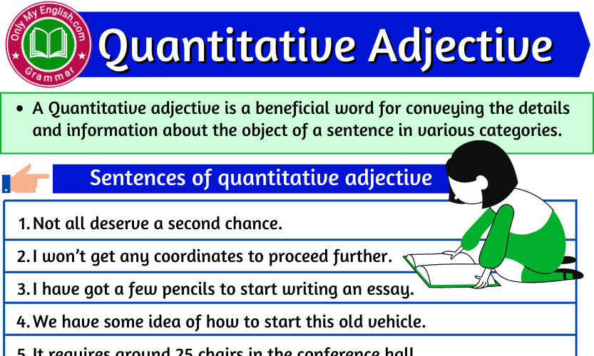 Quantitative Adjective: Definition, Examples, & List
