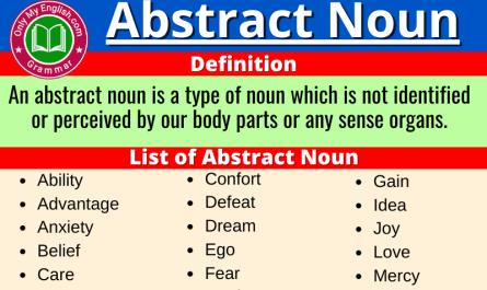 abstract noun