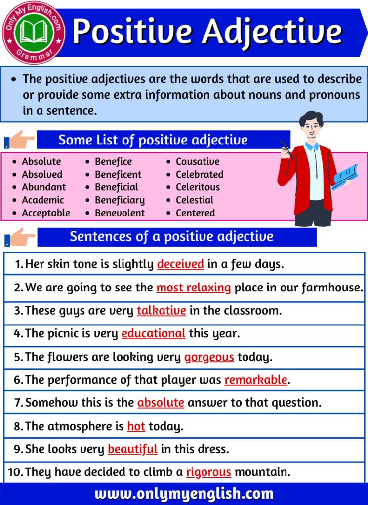 positive adjective