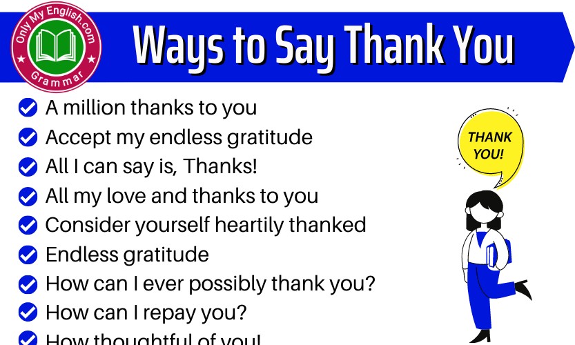"""100+ Creative Ways to Say """"Thank You So Much"""""""