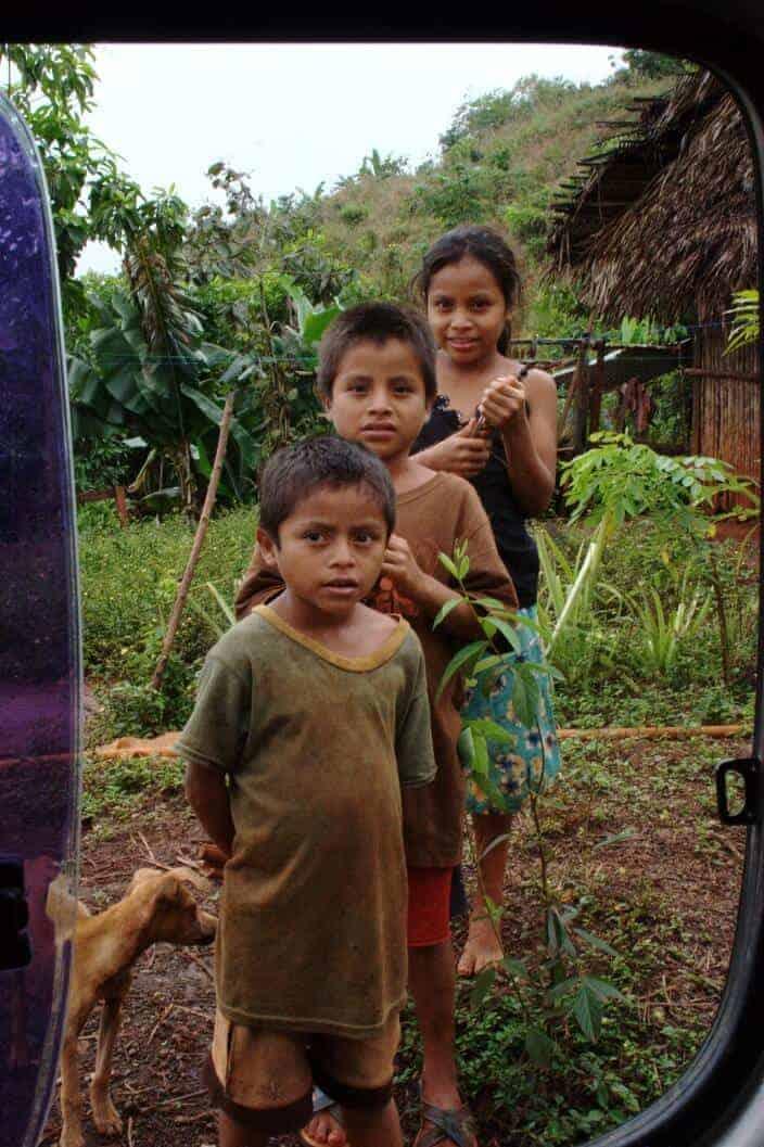 Road to Lanquin Guatemala