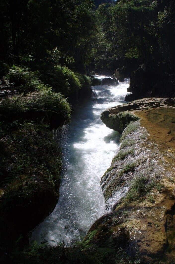Rio Cahabon Guatemala