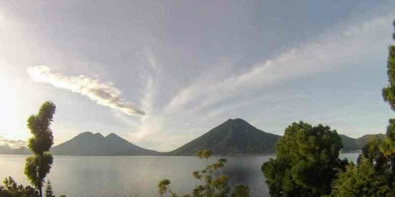 Volcanoes in Lake Atitlan Guatemala